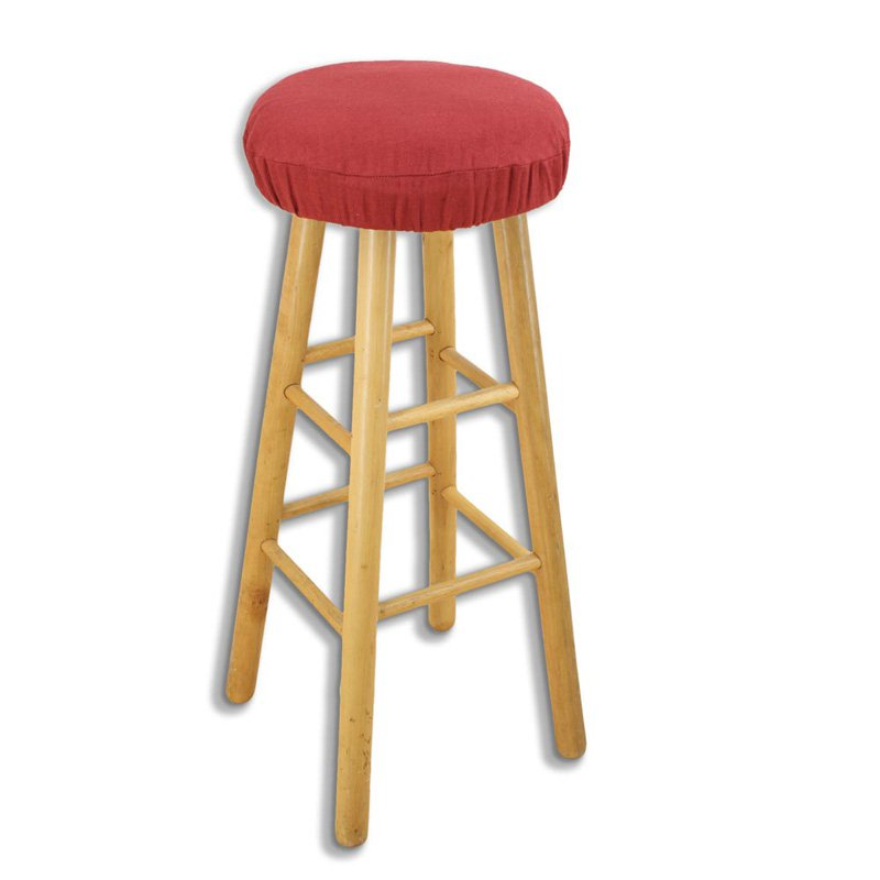 Round Bar Stool Covers Have A Nice Look Bar Stool Covers