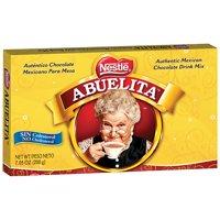 Nestle ABUELITA Authentic Mexican Chocolate Drink Mix 7.05 oz. Box