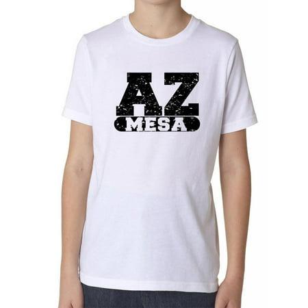 Mesa, Arizona AZ Classic City State Sign Boy's Cotton Youth T-Shirt