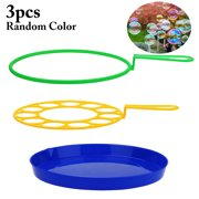 3PCS Bubble Wand Set Creative Funny Bubble Making Bubble Maker Bubble Sticks Outdoor Toys for Kids