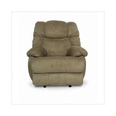 Berkline easy rider rocker recliner in sage for Berkline chaise recliner