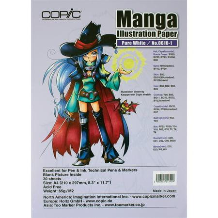Copic Manga Illustration Paper A4 8.3