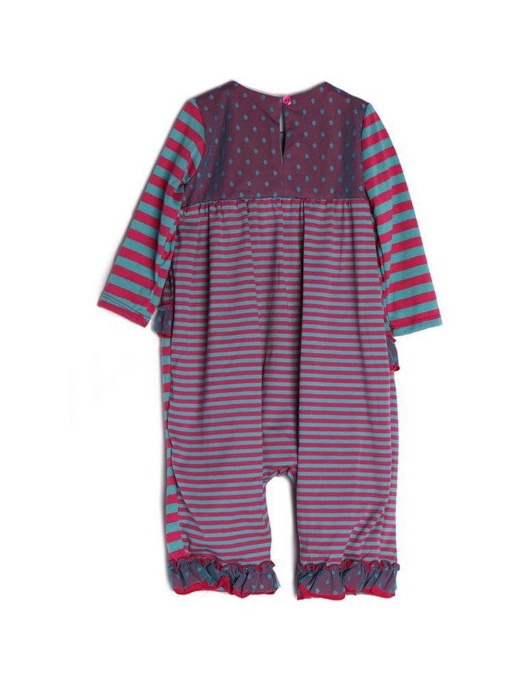 77822ce14 Isobella   Chloe - Isobella   Chloe Baby Girls Magenta Striped ...