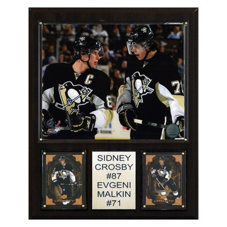 C&I Collectables NHL 12x15 Crosby-Malkin Pittsburgh Penguins Player Plaque