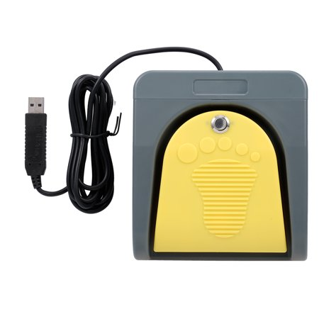 PCsensor FS2016USB2A USB Foot Switch Control Key Customized Computer Keyboard Action Pedal for Devices Computers Office - image 1 of 7