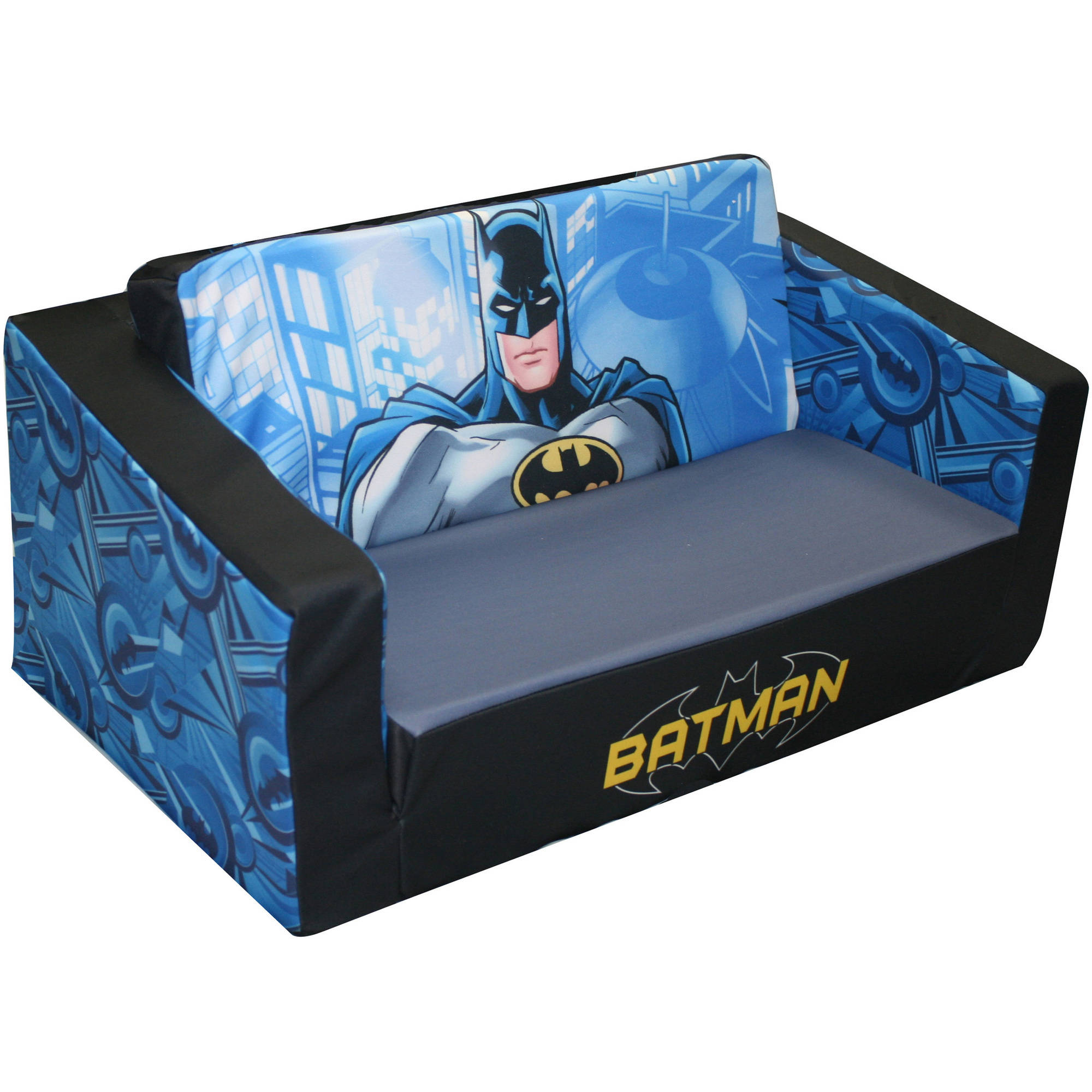 Batman Classic Animated Hero Flip Sofa   Walmart.com