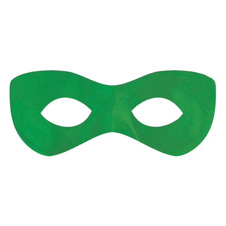 Red Hood Domino Mask (Amscan Amscan Green Domino Fabric Eye Mask Party Supplies and)