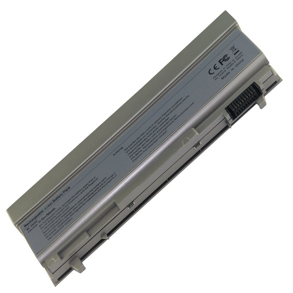 EBK New Extended Life lapttop Battery for Dell Latitude E6400 E6410 E6500 E6510 Precision M2400 M4400 M4500 Battery Pt434 Notebook Notebook Computer Battery[liiion 9-cell 7800mah]