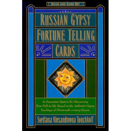 Russian Gypsy Fortune Telling Cards - Mysterious Fortune Cards