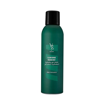 V76 by Vaughn Clean Shave Hydrating Gel Cream for Men, 5.6 (Hydrating Shave Cream)