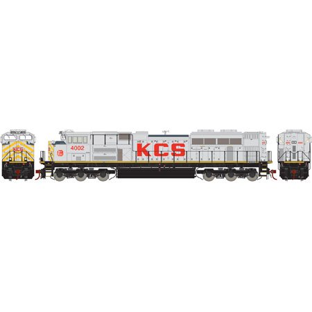 Athearn G68872 Ho Kansas City Southern Sd70ace With Dcc   Sound  4002
