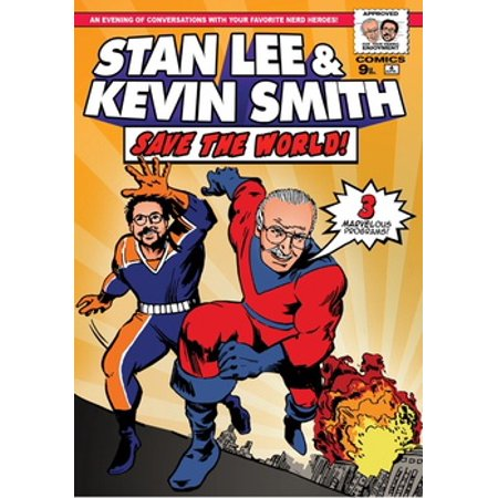 Stan Lee & Kevin Smith Save the World (DVD) (Stan Smith Sleek)