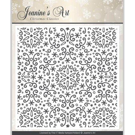 Find It Trading JMB10001 Jeanines Art Embossing Folder - Christmas Classics - image 1 de 1