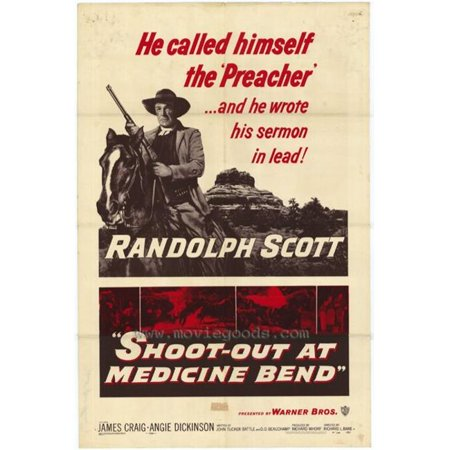 Posterazzi MOVIH8609 Shoot-Out at Medicine Bend Movie Poster - 27 x 40 in. - image 1 de 1