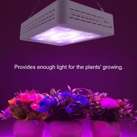 huge discount 53851 7e978 Yosoo Indoor LED Grow Light, 600 Watt Full Spectrum Plant Light for  Greenhouse Hydroponic Seedling Veg and Flower