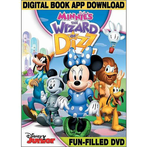 Mickey Mouse Clubhouse: Minnie's The Wizard Of Dizz (DVD   Digital Book App Download) (Widescreen)