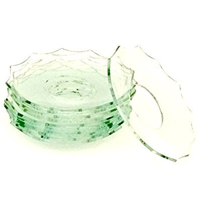 - Biedermann & Sons 12 Count Bobeches Glass with 11 Cut Edges, Clear