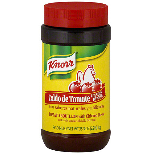 ***Discontinued by Kehe 07_20***Knorr Tomato Bouillon With Chicken Flavor, 35.3 oz (Pack of 6)