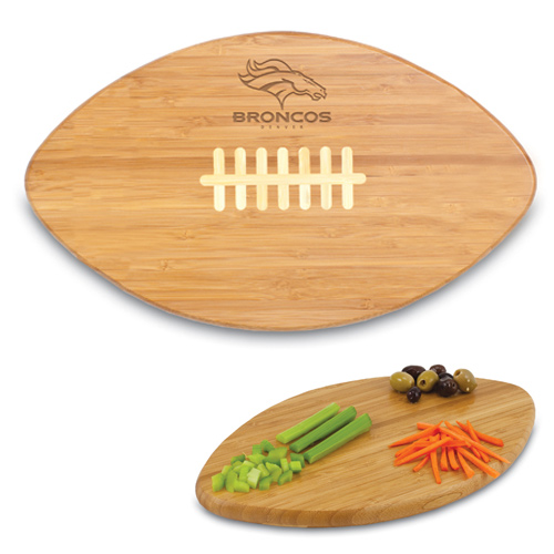 Denver Broncos Bamboo Touchdown Cutting Board - No Size
