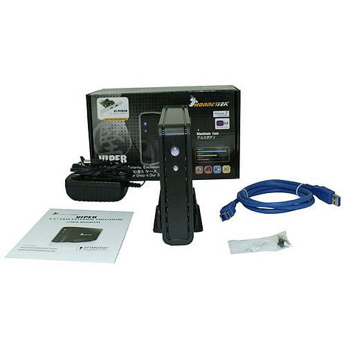 "Hornettek HT-316U3 Viper 3.5"" USB 3.0 Ultra Slim External Enclosure"
