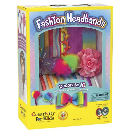 Creativity for Kids Create your Own Fashion Headbands Craft