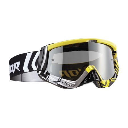 Thor Sniper MX/Offroad Goggles Geo Yellow/Black OS