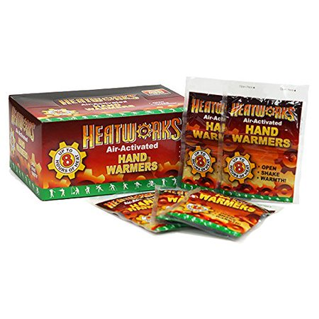Heatworks 8 Hour Handwarmers   40 Pack