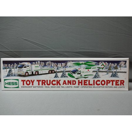 and Helicopter - 2006, flashing headlights By Hess Truck From