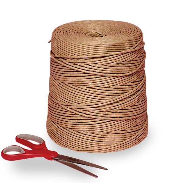 """#2 600' Brown Twisted Paper Cord 