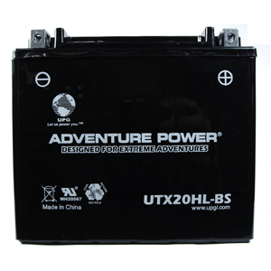 UPG 43033 UTX20HL-BS Dry Charge AGM Power Sports Battery
