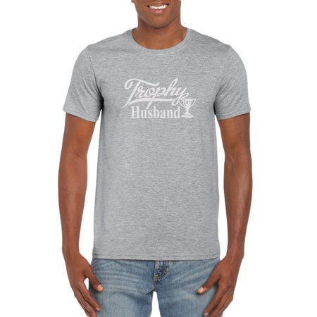 Trophy Husband T-Shirt Gift Idea for Men