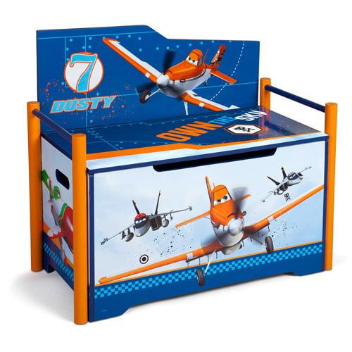 Walmart Helicopter Toys For Boys : Disney pixar planes deluxe toy box bench walmart
