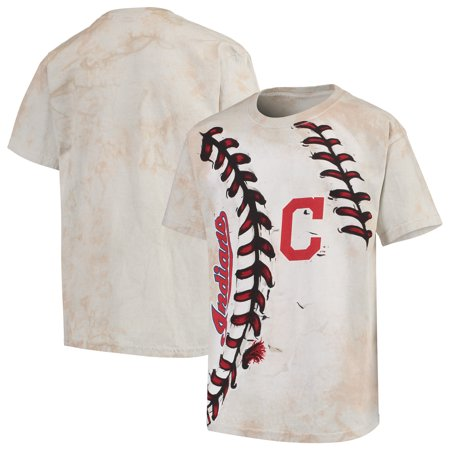 new product 7a542 157cc Cleveland Indians Youth Hardball T-Shirt - Cream
