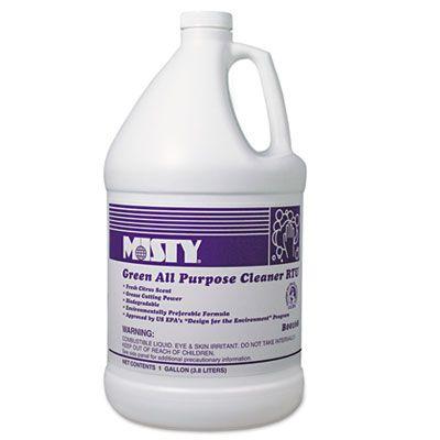 MISTY Green All-Purpose Cleaner RTU, Citrus, 1 gal. Bottle