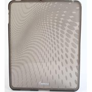 Impecca IPS120SM Wave Pattern Flexible Tpu Protective Skin For Ipad - Smoke