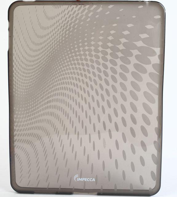 Impecca IPS120SM Wave Pattern Flexible Tpu Protective Skin For Ipad - Smoke