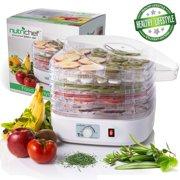 NutriChef PKFD06 Compact Food Dehydrator Machine