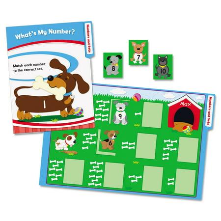 Carson-Dellosa Publishing CenterSOLUTIONS Math File Folder Games, Kindergarten