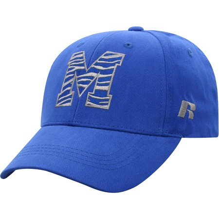 Men's Russell Athletic Royal Memphis Tigers Endless Adjustable Hat - OSFA