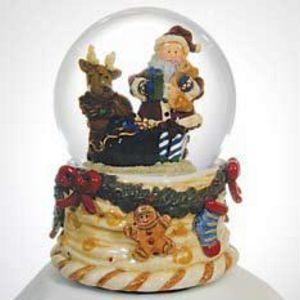 Santa & Reindeer by Twinkle Globe TW1101029 by Twinkle Globe