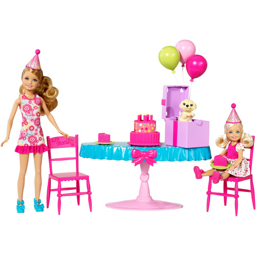 Barbie Chelsea Birthday Party Play Set