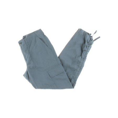 - Lauren Ralph Lauren Womens Twill Flat Front Cargo Pants