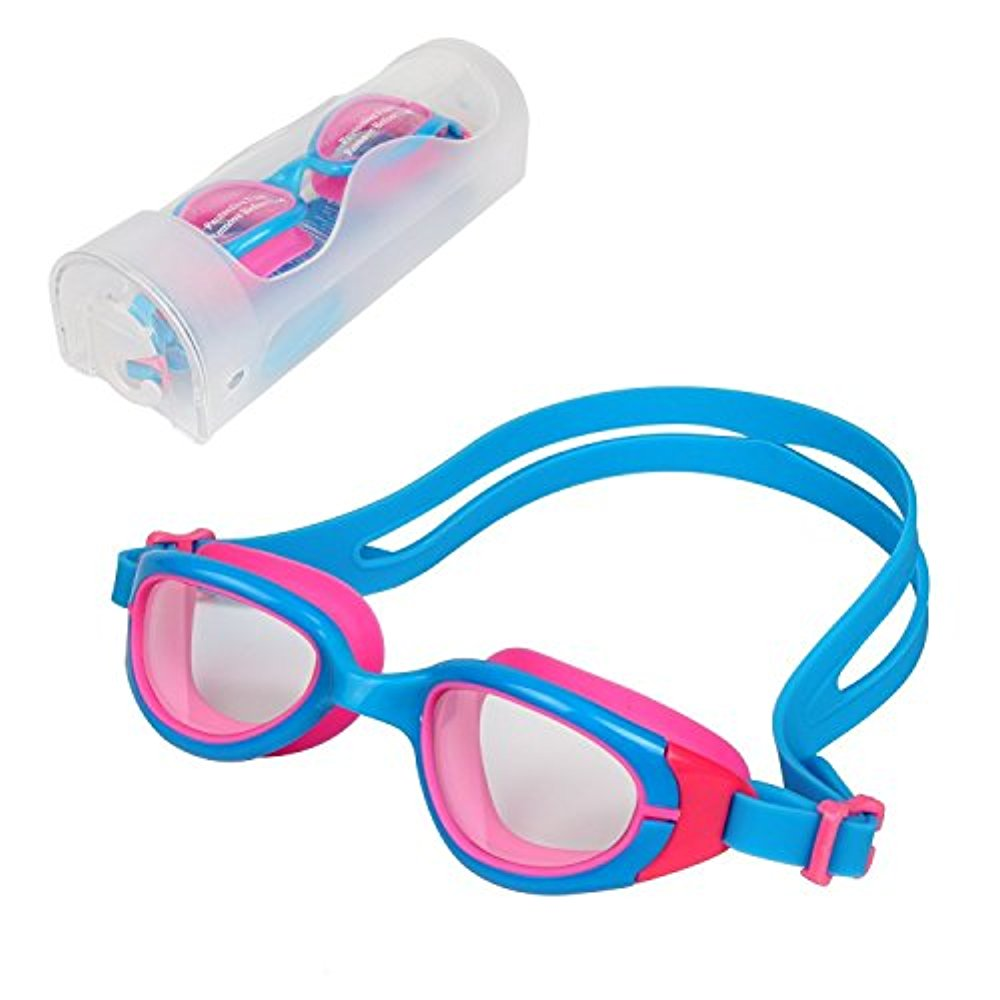 HiCool Anti-Fog Swim Goggle for Kids and Early Teens by LIVEDITOR LIGHTING