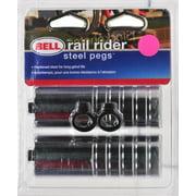 Bell Sports Rail Rider 200 BMX Stunt Pegs, Chrome
