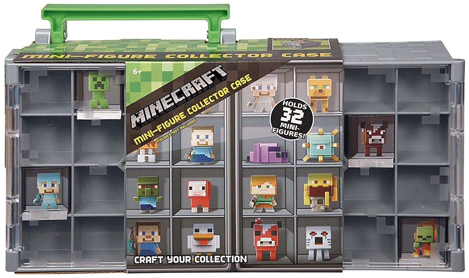 Minecraft Mini Figure Collector Case, Safely store and display all your collectible... by