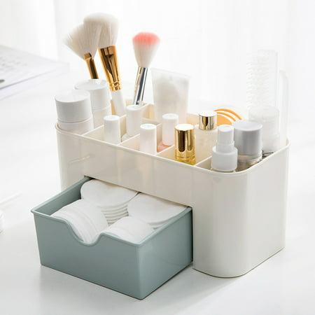 Smart Novelty Saving Space Desktop Comestics Makeup Storage Drawer Type Box](Novelties Store)