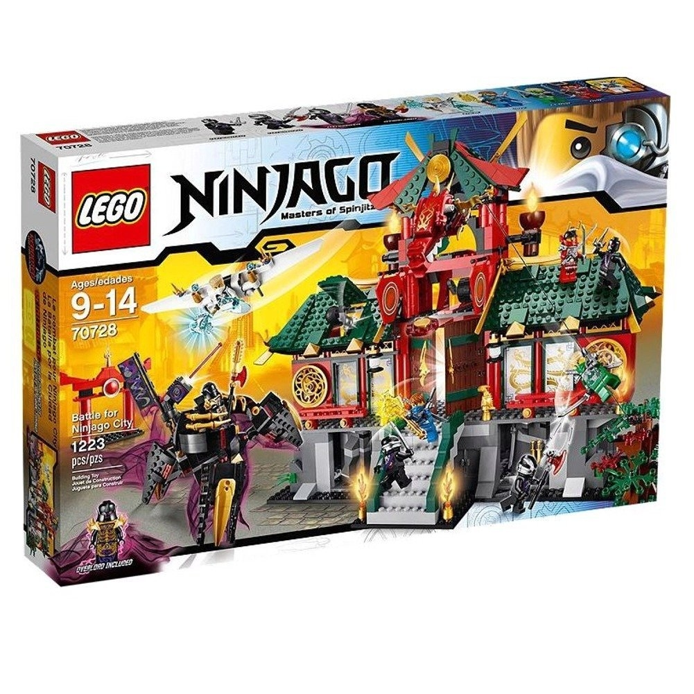 Lego Ninjago 70728 Battle for Ninjago City (Discontinued ...