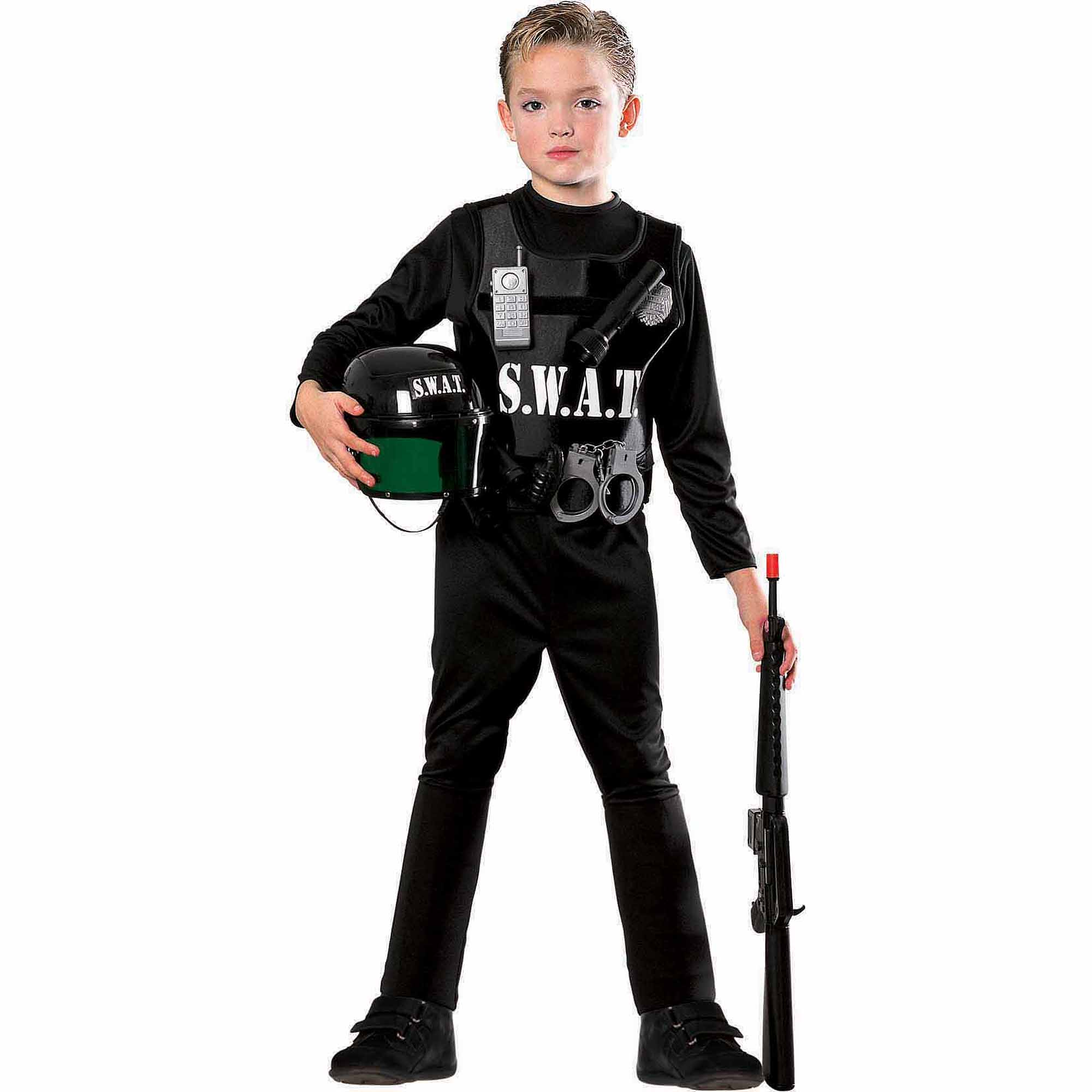 sc 1 st  Walmart.com & S.W.A.T. Team Child Halloween Costume - Walmart.com