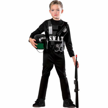 S.W.A.T. Team Child Halloween Costume - Best Guys Halloween Costumes