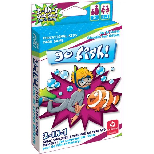 Go Fish Jumbo Kids' deck